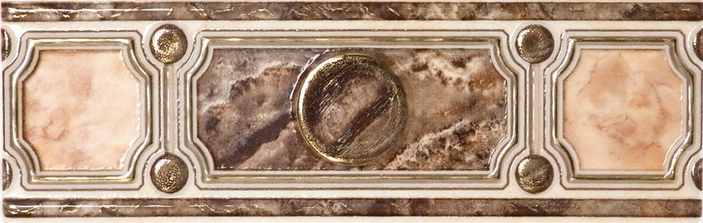 Pietra БШ-20-31 Бордюр коричневый