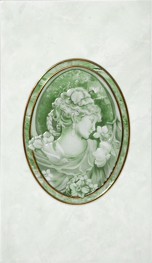 Pietra Д20 011 Декор зеленый