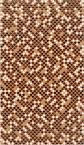декор Novita коричневый