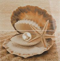 панно Жемчужина на песке