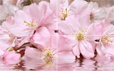 панно Букет розовый