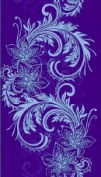 декор Азур синий 1645-0059