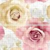 Арома розовый панно