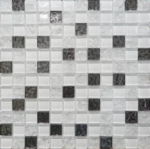 Мозаика Mosaic Glass White