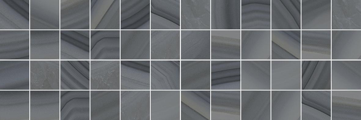 Agat Декор мозаичный серый MM60085