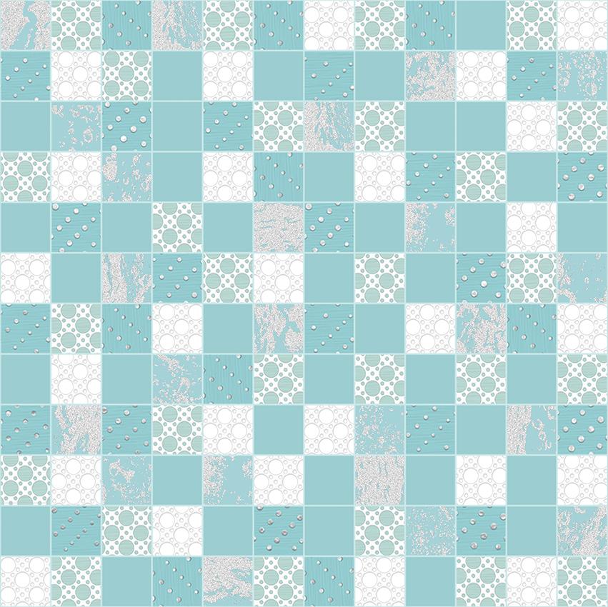Мозаика Mosaic Aquamarine