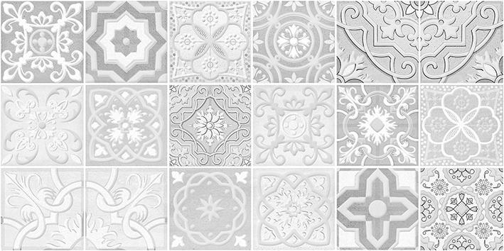 Concrete Module Декор серый