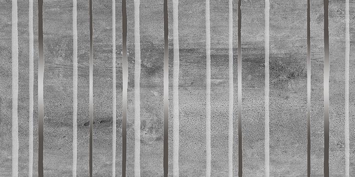 Concrete Trigger Декор тёмно-серый